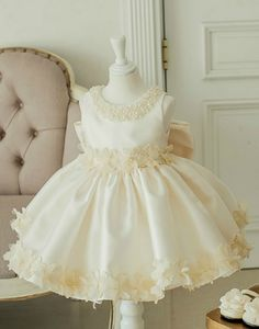 Flower Girl Dress, Light Pink Baby Girl