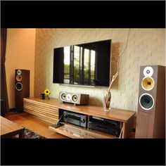Tv Unit Furniture, Home Theater Furniture, Home Theater Setup, Home Theater Rooms, Home Theater Design, Home Music Rooms, Home Decor Boxes, Sound Room, Audio Room