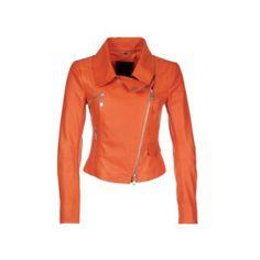 Schitterende oranje lederen jas voor dames van het merk Laurel. Deze oranje leren jas is uit de nieuwe collectie van Zalando. Dames zie er prachtig uit tijdens oranje events zoals Koningsdag, het WK voetbal of een andere oranje feestje.
