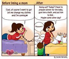 Mom Illustrates Her Everyday Motherhood Problems