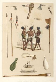 Print of Maori Weapons and Implements of War Fine Art Prints, Framed Prints, Canvas Prints, Tribal Warrior, Indigenous Tribes, Maori Art, Gifts In A Mug, Poster Size Prints, Online Printing