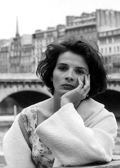 "sala66: ""Juliette Binoche, por Robert Doisneau, 1991 """