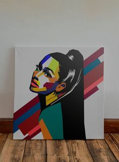 en lienzo pop art Custom Original Hand Drawn Portrait of Ariana Grande in a Very Unique WPAP / Pop Art Style Cute Canvas Paintings, Easy Canvas Art, Small Canvas Art, Mini Canvas Art, Arte Pop, Pop Art Drawing, Art Drawings, Abstract Portrait Painting, Mandala Art Lesson