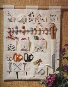 Punto de Cruz GRATIS: Costureros y minis de costura: IDEAS
