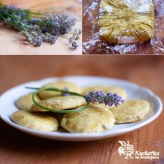 Lavender Cookies Recipe, look so yummy, in czech. Lavender Cookie Recipe, Risotto, Cookie Recipes, Zucchini, Vegetarian Recipes, Sweets, Cookies, Vegetables, Ethnic Recipes