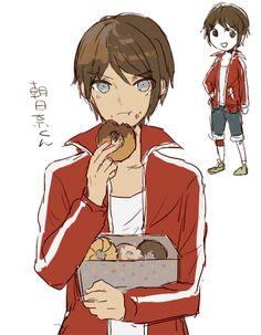 genderbend female to male. girl to boy danganronpa anime