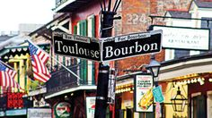pictures of bourbon street in new orleans - Google Search