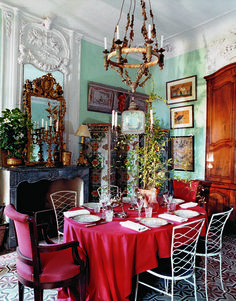 Francois Halard's parents' home: as chic and creative as his work