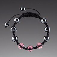 Pink Crystal Cord Bracelet by Lenox