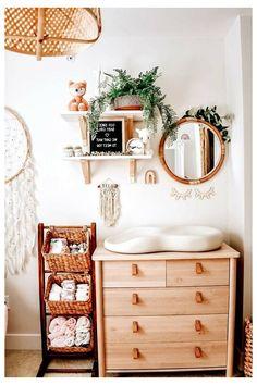 #minimalist #baby #nursery #minimalistbabynursery Baby Nursery Decor, Nursery Neutral, Baby Decor, Girl Nursery, Girl Room, Nursery Room, Nursery Ideas, Boho Nursery, Nursery Grey