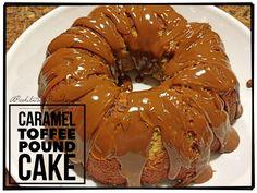 Caramel Toffee Pound