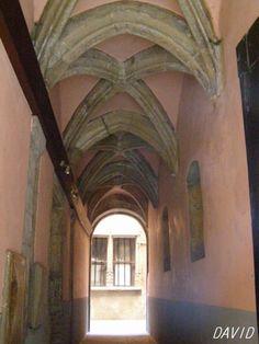 Les traboules à Lyon sont des voies étroite, débutant par un couloir d'entrée et traversant un ou plusieurs bâtiments pour relier une rue à une autre. Ces passages seraient apparus à partir du 4ème siècle, alors que Lyon était encore l'antique Lugdunum. Le 15ème et 16ème siècle ont légués de véritables chef-d'oeuvres , avec leurs cours étroites bordées de galeries. On dénombre près de 500 traboules, réparties dans le Vieux-Lyon, la Croix-Rousse et la Presqu'Ile.