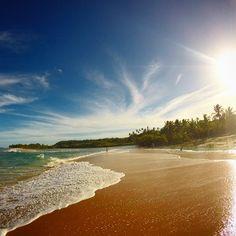 #instagram larissanoel A despedida do paraíso. Encontro do rio com o mar na praia do rio da barra #trancoso #bahia #praiadoriodabarra #beach #paradise #mtur #obrasilpelosbrasileiros #viajepelobrasil #brazil #brazilisparadise #beachlovers #beach #summer #herecomesthesun