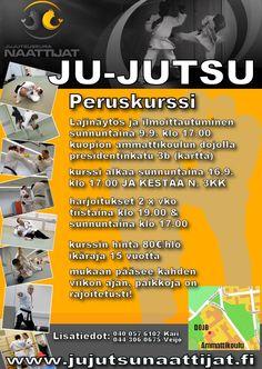 Jujutsuseura Naattijat peruskurssi aluillaan, vielä ehtii mukaan. Hobbies, Events, Places, Lugares