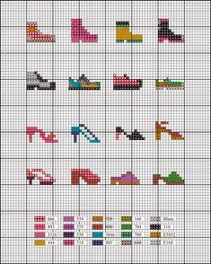sac pour chaussures a broder point de croix - Pesquisa do Google