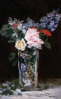 Eduard Manet painted these bouquets just before he died. I was sad his brushes had to stop!