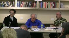 """On May 5, Bernard Harcourt participated in a discussion on """"Political Disobedience vs. Revolution"""" at the New School in New York City."""