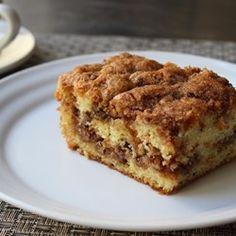 Pecan Sour Cream Coffee Cake - Allrecipes.com
