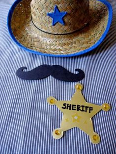 Wild West Storytime Craft: Sheriff Badges and Cowboy Mustaches