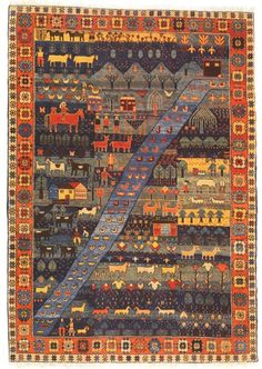turkish-folklife rug from Woven Legends