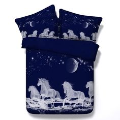 3D HD photography Horses bedding set, Super king/King/Queen/Twin Size( 4 Pieces) 100% modal Duvet Cover Set,flat sheet, 4 Pieces,  sold by UHHome. Shop more products from UHHome on Storenvy, the home of independent small businesses all over the world.