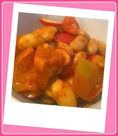 No gluten! Yes vegan!: Insalata speziata di fagioli di Spagna, ravanelli ...