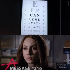 """49.2k Likes, 125 Comments - Pretty Little Liars (@prettylittleliars) on Instagram: """"Message #216 from A. Sent to Spencer. Rosewood Hospital.  #PLLMemoryLane 104 of 150 // Season 5,…"""""""