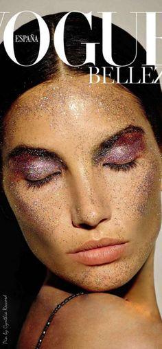 Purple Rain | Lily Aldridge for Vogue Spain | January 2016 | cynthia reccord