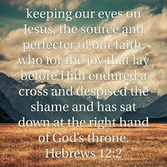 Hebrews 12:2 HCSB