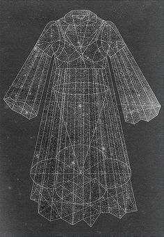 Referência Imagem de Moda - Geometria Sagrada
