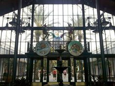 The Lobby at Disney's Port Orleans French Quarter #DisneyResorts #PortOrleans #FrenchQuarter #POFQ #DisneyWorld