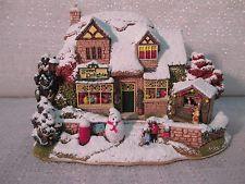 2002 Lilliput Lane Christmas Lights At Sweet Delights Illuminated Cottages L2556