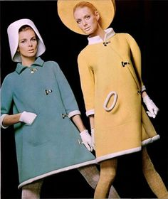Pierre Cardin Coats - 1967  L'Officiel De La Mode No. 539-540