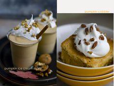 Pumpkin ice cream shake. YUM.  www.holidaywithmatthewmead.com