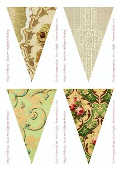 Sears Vintage Wallpaper Flags No 33-40 – Mix & Match