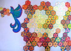"""Puzzle """"O Vôo do Beija-Flor"""" - Posição do beija-flor fora da base IV - Por Antônia Sobral"""