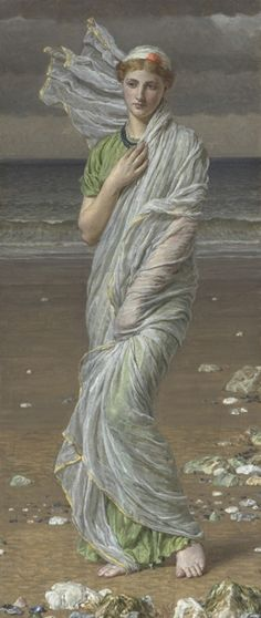 Seashells - Albert Joseph Moore (1841- 1893)don't usually go for this highly romantic art style, but like this,