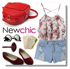 """""""NEWCHIC 1/3"""" by tamsy13 ❤ liked on Polyvore"""