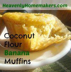 Banana Muffins  ///  1/2 c flour  //  1/4 t salt  //  1/2 t baking powder  //  6 eggs  //  4 T Oil   //   1/4 c honey   //   2-3 ripe, mashed bananas  //  1/2 cup nuts (optional)  ///  Mix all ingredients together. Pour batter into a well greased muffin pan.  Bake at 350 for 15-25 minutes.  Makes 12 muffins.
