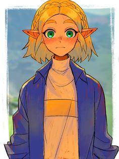 Legend Of Zelda Memes, The Legend Of Zelda, Legend Of Zelda Breath, Fanarts Anime, Anime Characters, Image Zelda, Princesa Zelda, Character Art, Character Design