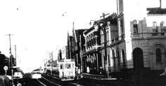 Redfern Street. Redfern...at George Street. 1956