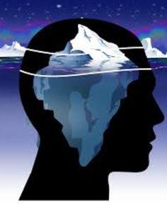Conscious & unconscious iceberg