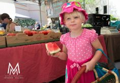 Got a slice of #Grammys Watermelon now I am ready to do some more shopping at St. Philips Plaza Farmers Market Tucson, Arizona Michael Moriarty Photography