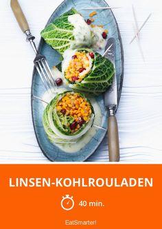 Linsen-Kohlrouladen -  Eine vegane Alternative zu den herkömmlichen Rouladen, die du lieben wirst.