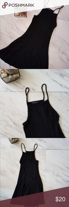 Brandy Melville black dress ☀️ Worn once! There is some pilling though out , not noticeable when on. Listed as not for sale just to make sure this description is read Brandy Melville Dresses