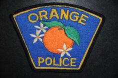 Orange Police Patch, Orange County, California (Vintage)