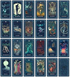 The Prisma Visions Tarot is a full 79 card tarot deck with an accompanying 100 page guidebook by James R. The Prisma Visions Tarot is modeled after it's Tarot Decks, What Are Tarot Cards, Game Card Design, Major Arcana Cards, Oracle Cards, Deck Of Cards, Miniature, Witchcraft, Wiccan