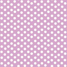Pretty Polka Dots in Lavender fabric by thepinkhome on Spoonflower - custom fabric