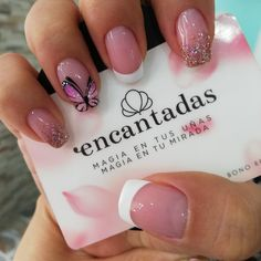 nails how to Square Acrylic Nails, Acrylic Nail Designs, Nail Art Designs, Blush Nails, Pink Nails, Cute Nail Art, Easy Nail Art, Love Nails, Pretty Nails
