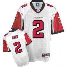 Nike Falcons #2 Matt Ryan White Stitched NFL Jersey